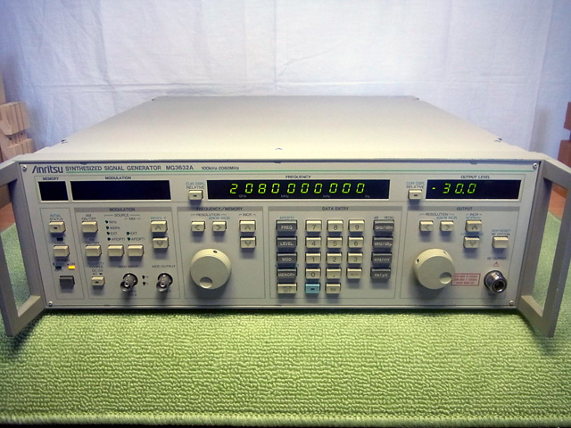 MG3632A/03標準信号発生器|中古...